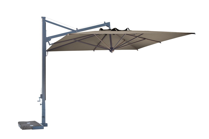 Cantilever Patio Umbrella SCOLARO «Galileo Maxi  4x4» offset aluminum